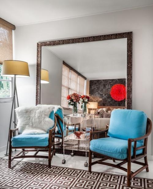 افكار ديكور غرفة الجلوس للمساحات الصغيرة