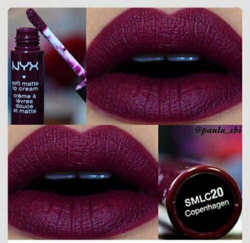Nyx matte lipstick swatches siren