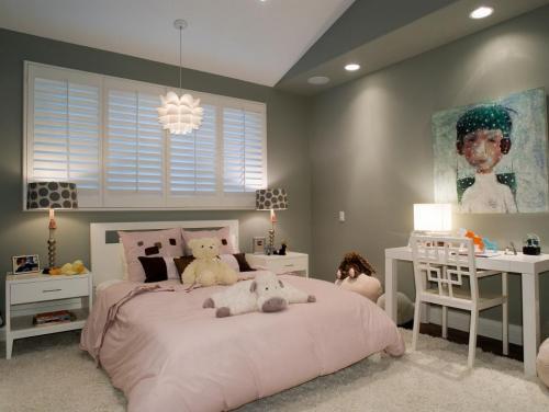 افكار بسيطة لتصميم احدث غرف نوم بنات   هولو   كل مفيد
