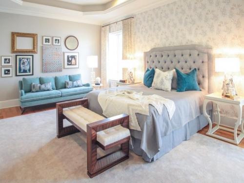 افكار لتصميم احدث غرف نوم للعرسان   هولو   كل مفيد