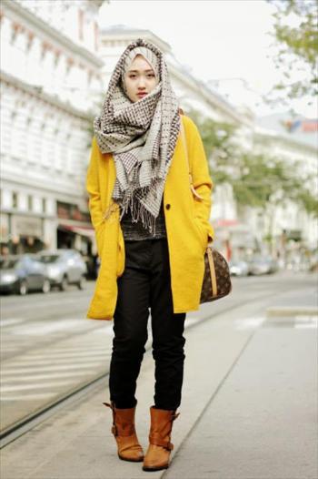 f9a6f5049521b ملابس شتوية للبنات المحجبات انيقة ورقيقة - هولو - كل مفيد