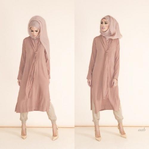 ملابس شتوية للمحجبات 2016