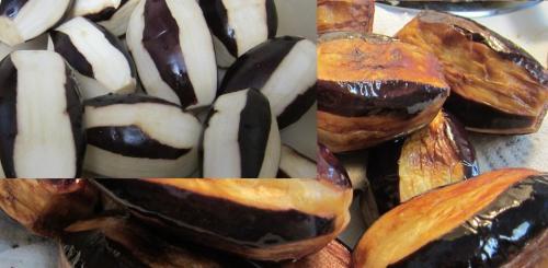 طريقة عمل الباذنجان محشي باللحم المفروم والجبنة