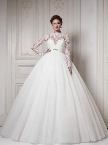 90c3d07237ca0 موضة فساتين زفاف 2016 بالصور - هولو - كل مفيد