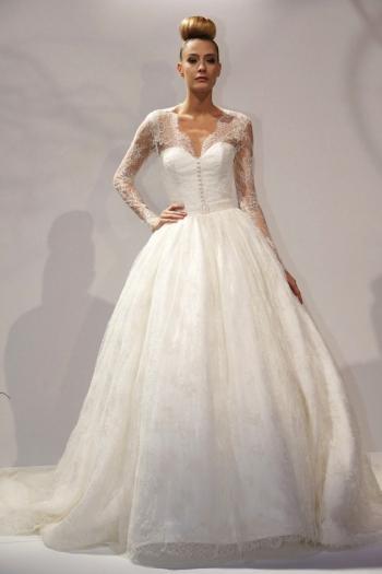 2d540864b موضة فساتين زفاف 2016 بالصور - هولو - كل مفيد