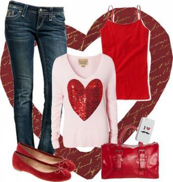 399c50170a346 موديلات ملابس شتوية ليوم عيد الحب - هولو - كل مفيد