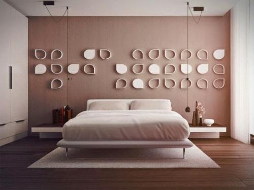 افكار جديدة لتزيين جدران غرف نوم   هولو   كل مفيد