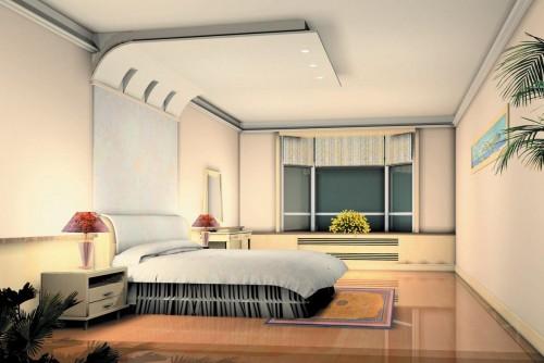 Glamorous Living Room Pop Ceiling Designs