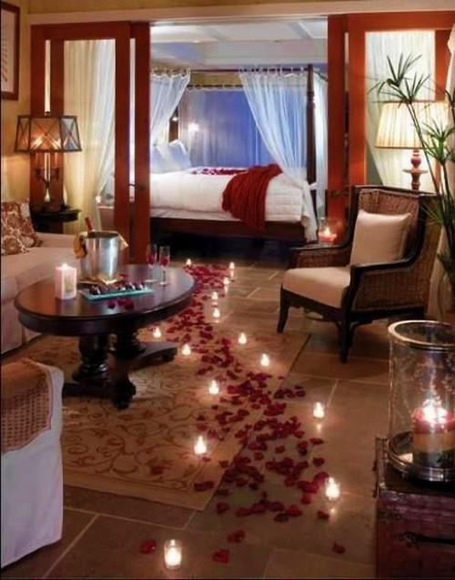 غرف نوم للعرسان رومانسية وجديدة   هولو   كل مفيد