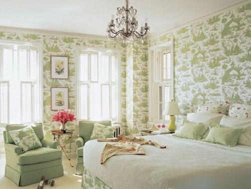 غرف نوم للعرسان رومانسية وجديدة