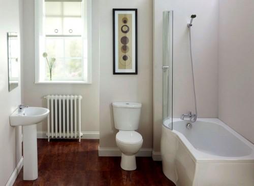 : ديكورات حمامات صغيرة جدا : ديكور