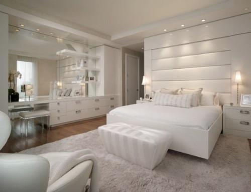 غرف نوم بيضاء وصور اجمل غرف نوم باللون الابيض   هولو   كل مفيد