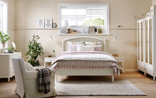 غرف نوم ايكيا واجمل تصاميم غرف نوم   هولو   كل مفيد
