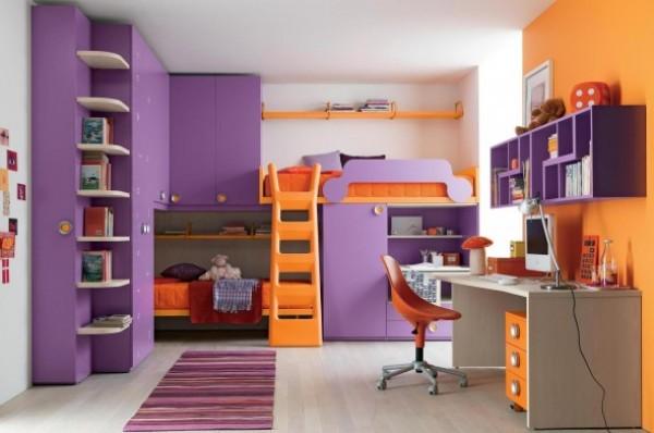 احدث تصميم والوان غرف نوم اطفال مشتركة   هولو   كل مفيد