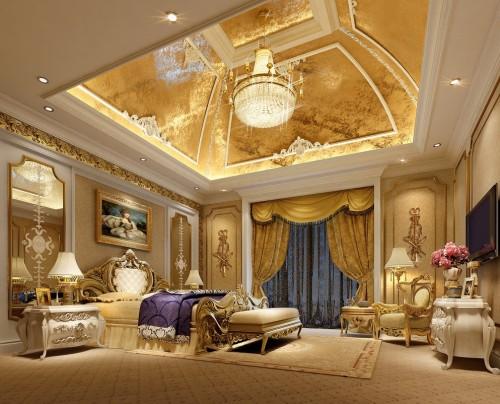 اشكال غرف نوم فخمة وراقية لمحبى الفخامة   هولو   كل مفيد