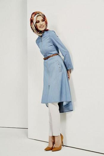 093dabe687d4e موديلات ملابس صيفية للمحجبات تركية بالصور - هولو - كل مفيد
