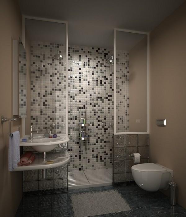 تصاميم مطابخ داخلية: افكار تصميم حمامات جديدة بالصور