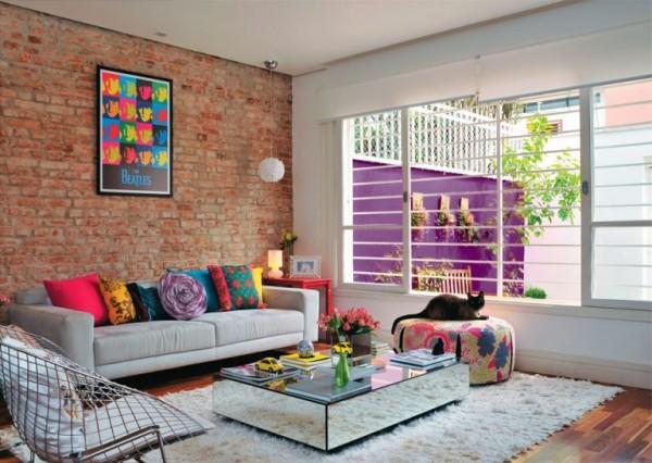 غرف معيشة غرف جلوس ذات اطلاله مبهجة تجمع بين المودرن والاناقة الكلاسكية