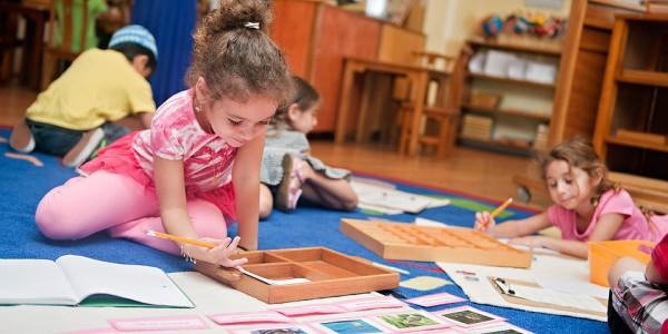 Image result for مهارات منتسوري للأطفال