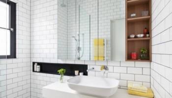 كيفية الاستفادة من المساحة فى تصاميم الحمامات الصغيرة